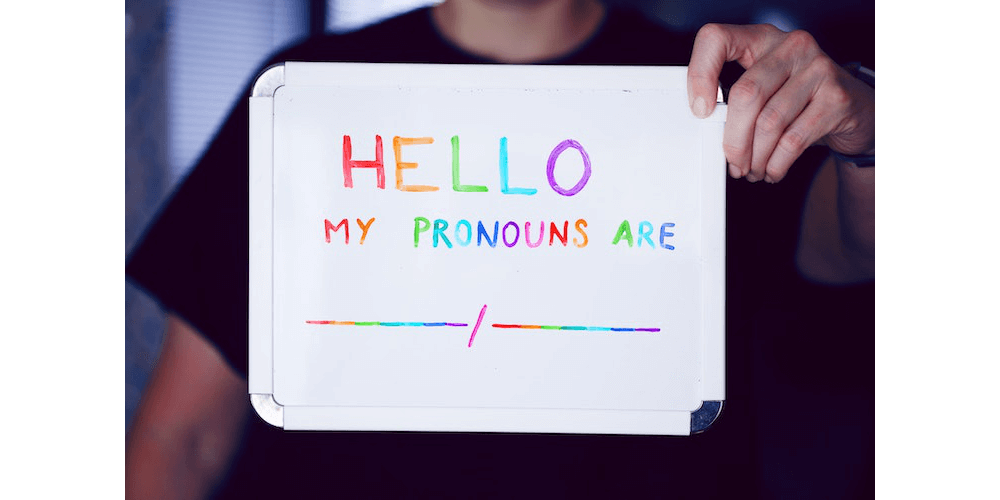Using gender pronouns